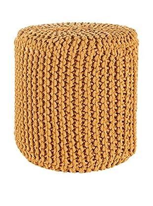 Vintage Puff 720187 Naranja