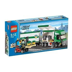 レゴ シティ レゴの町 トラックとフォークリフト 7733