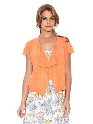 American Vintage Chaqueta Abierto (Naranja)