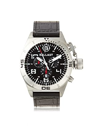 Ballast Men's BL-3121-02 Amphion Black/Silver Stainless Steel Watch