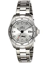Invicta Women's Quartz Watch with Silver Dial Analogue Display and Silver Stainless Steel Bracelet 21565