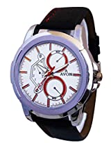 A Avon Formal Analog White Dial Men's Watch - 1002016