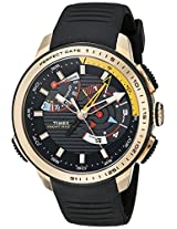 Timex Mens TW2P44400DH Intelligent Quartz Yacht Racer Analog Display Analog Quartz Black Watch
