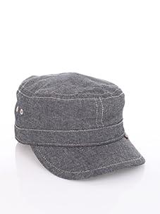Ben Sherman Men's Chambray Legion Hat (Black)