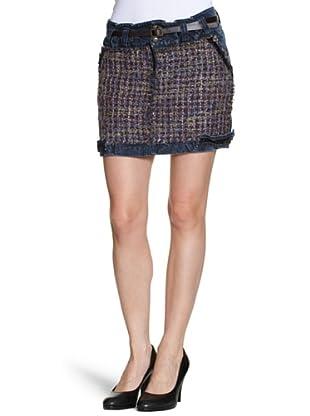 Desigual Falda Fredi (Azul)