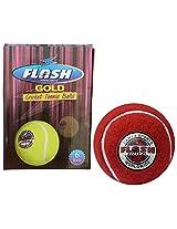 Flash Men Cricket Tennis Ball (Red)