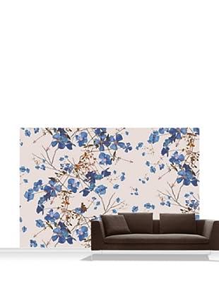 Michael Angove Clematis Powder Blue Mural, Standard, 12' x 8'