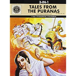 Tales from the Puranas: 3 in 1 (Amar Chitra Katha)