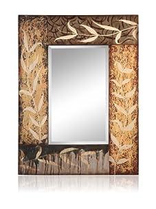 Cooper Classics Kayla Oversized Mirror, Aged Cream/Gray