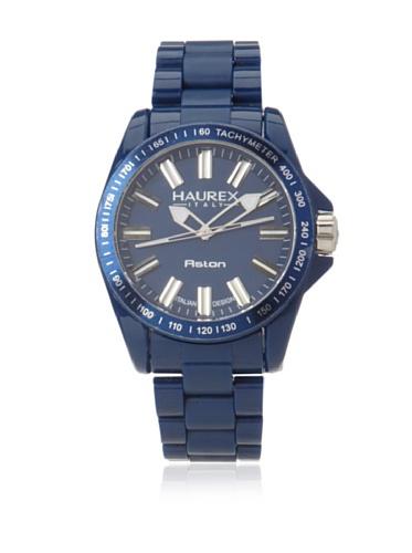 Haurex Italy Men's B7366UB1 Aston Blue Watch