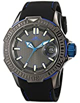 Adee Kaye Men's AK7752-M GRAND MOND - G2 COLLECTION Analog Display Japanese Quartz Black Watch