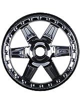 "Pro-Line Racing 272811 Desperado 2.8"" Traxxas Bead Black Chrome Front Wheels, 2-Pack"