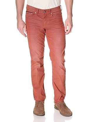 Stitch's Men's Barfly Slim Straight Corduroy Pant (Whiskey)
