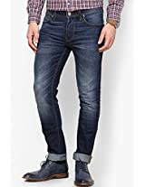 Blue Low Rise Skinny Fit Jeans VOI