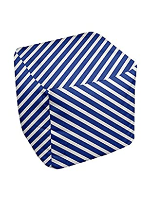 e by design Decorative Stripe Pouf
