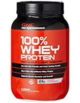 GNC PP 100% Whey Protein - 2.01 lbs (Strawberry)