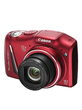 Canon PowerShot SX150IS Cámara digital (Rojo)