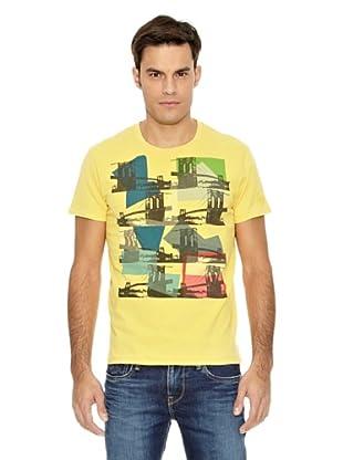 Pepe Jeans London Camiseta Dumbo (Amarillo)