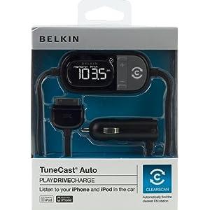 BELKIN iPod/iPhone 専用 FMトランスミッター TUNECST AUTO4 F8Z343JA