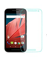 Skoot Anti Explosion 0.3mm 2.5D 9H Ultra thin Tempered Glass Screen Protector for Motorola Moto G3 (3rd generation)