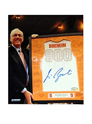 Steiner Sports Memorabilia Jim Boeheim Syracuse 900 Win Jersey Signed Photo