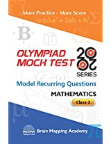 BMA's Olympiad Mock Test 20-20 Series - Mathematics for Class - 2