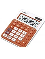 Casio MS-20NC-RG Basic Calculator LARGE DISPLAY Tax Calculations