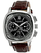 Akribos XXIV Men's AK462BR Grandiose Analog Display Swiss Quartz Brown Watch