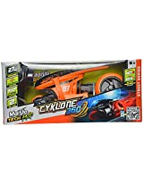Majorette Cyclone Toy Motorcycle, Orange