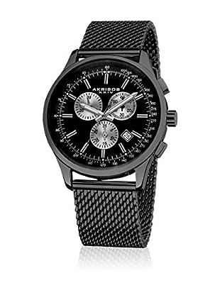 Akribos XXIV Uhr mit schweizer Quarzuhrwerk Man schwarz 43 mm