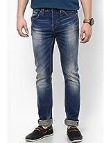 Blue Skinny Fit Jeans (soho)