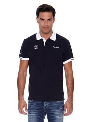 Pepe Jeans London Polo Racecar (Azul)