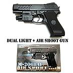 Generic Air Sports Laser Gun Red Laser + Blue Light Pistol Toy