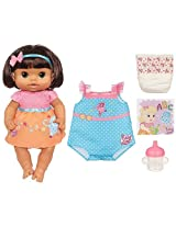 Baby Alive Dressed for School Doll, 2 Outfits, She Drinks & Wets