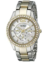 XOXO Women's XO5478 Rhinestone-Accented Two-Tone Watch