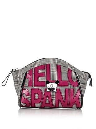 Hoy Collection Trousse Serafina Hello Spank Lettering (Avorio/Nero)