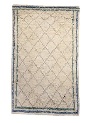 F.J. Kashanian Morrocan Berber Rug, Ivory, 6' x 9'