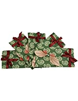 Twinkle Creation Handmade Paper Envelope With Butterfly Design-19 cm X 9.5 cm
