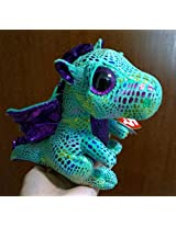 "Ty Beanie Boos Cinder The 6"" Dragon Plush Toy"