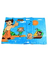 Chhota Bheem Team Bath Towel - Blue