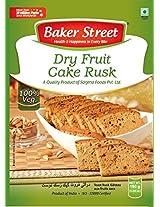 Baker Street Dry Fruit Eggless Cake Bread Toast Rusk 150 Gms