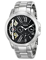 Fossil End of Season Grant Twist Multifunction Stainless Steel Men's Watch - ME1146