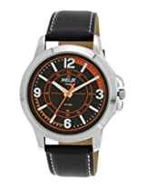 Helix Analog Black Dial Men's Watch - TW023HG01