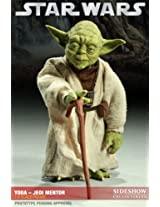 Sideshow Collectibles - Star Wars figurine 1/6 Yoda Jedi Mentor 14 cm