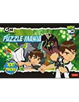 Ben 10 Puzzle Mania, Multi Color