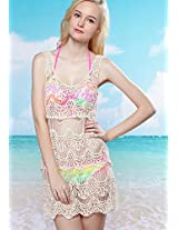 Beige Dress Beachwear N-Gal