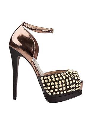 Steve Madden Zapatos Peep Toe Obstcl (Negro)