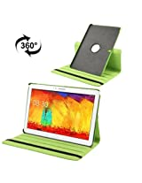 360 Degree Rotatable Litchi Texture Leather Case with 3-angle Viewing Holder for Samsung Galaxy Note Pro 12.2 / P900 / Samsung Galaxy Tab Pro 12.2 (Green)