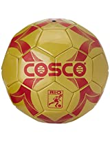 Cosco Rio Football, Size 3 (Yellow/Red, Small Sized Football)