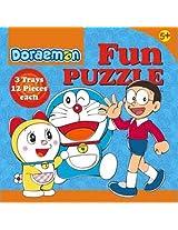 Doraemon Fun Puzzle, Multi Color